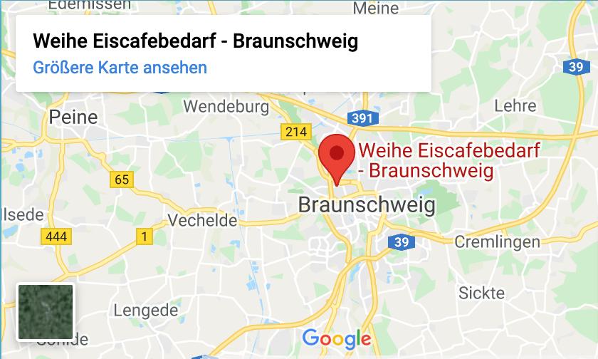 Weihe Eiscafebedarf Google Position