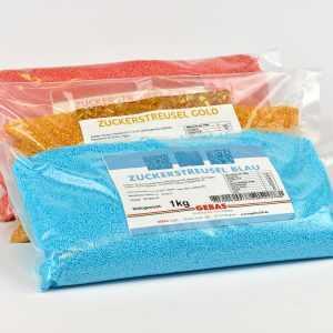 Zuckerstreusel blaue 1Kg