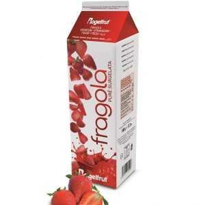 TK-Fruchtpüree Erdbeer (Zucker 10%) 1Kg
